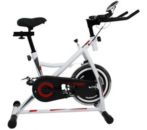 Example of an indoor cycling bike