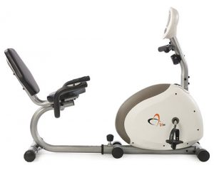 Example of a recumbent exercise bike