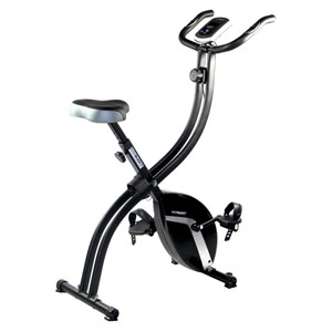 The Roger Black Gold Folding Bike is a great choice if you don't have much space in your home.