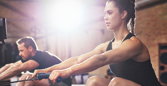 How to Burn Calories on a Rowing Machine
